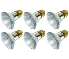 Pack Of 6 39Watt PAR20 120V High Output (50W Replacement) Flood Halogen Bulb