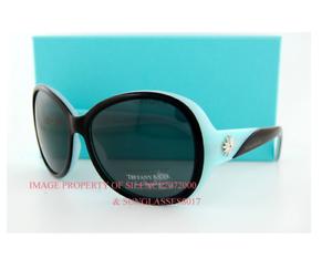 6d29356b83c1 Brand New Tiffany   Co. Sunglasses 4027G 80553F Black and Blue Women ...