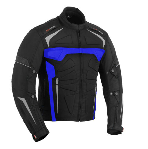 Hose Motorradanzug Motorradjacke BLAU Motorradbekleidung Cordura Motorrad Jacke