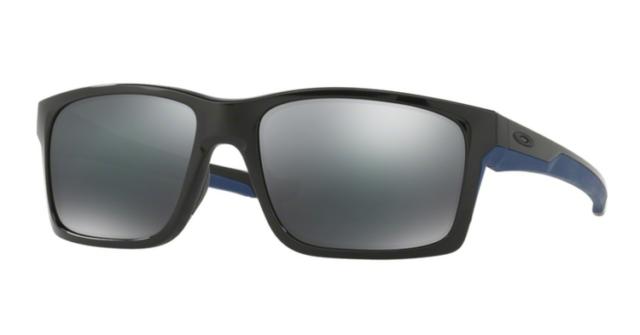 Oakley Mainlink Prizm >> Oakley Mainlink Polarized Polshed Black Sunglasses Prizm 9264 5717