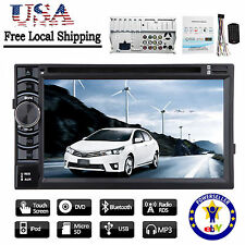 """For Toyota Corolla 6.2"""" 2Din Stereo Car DVD Radio AUX IN Bluetooth Ipod USB IN"""