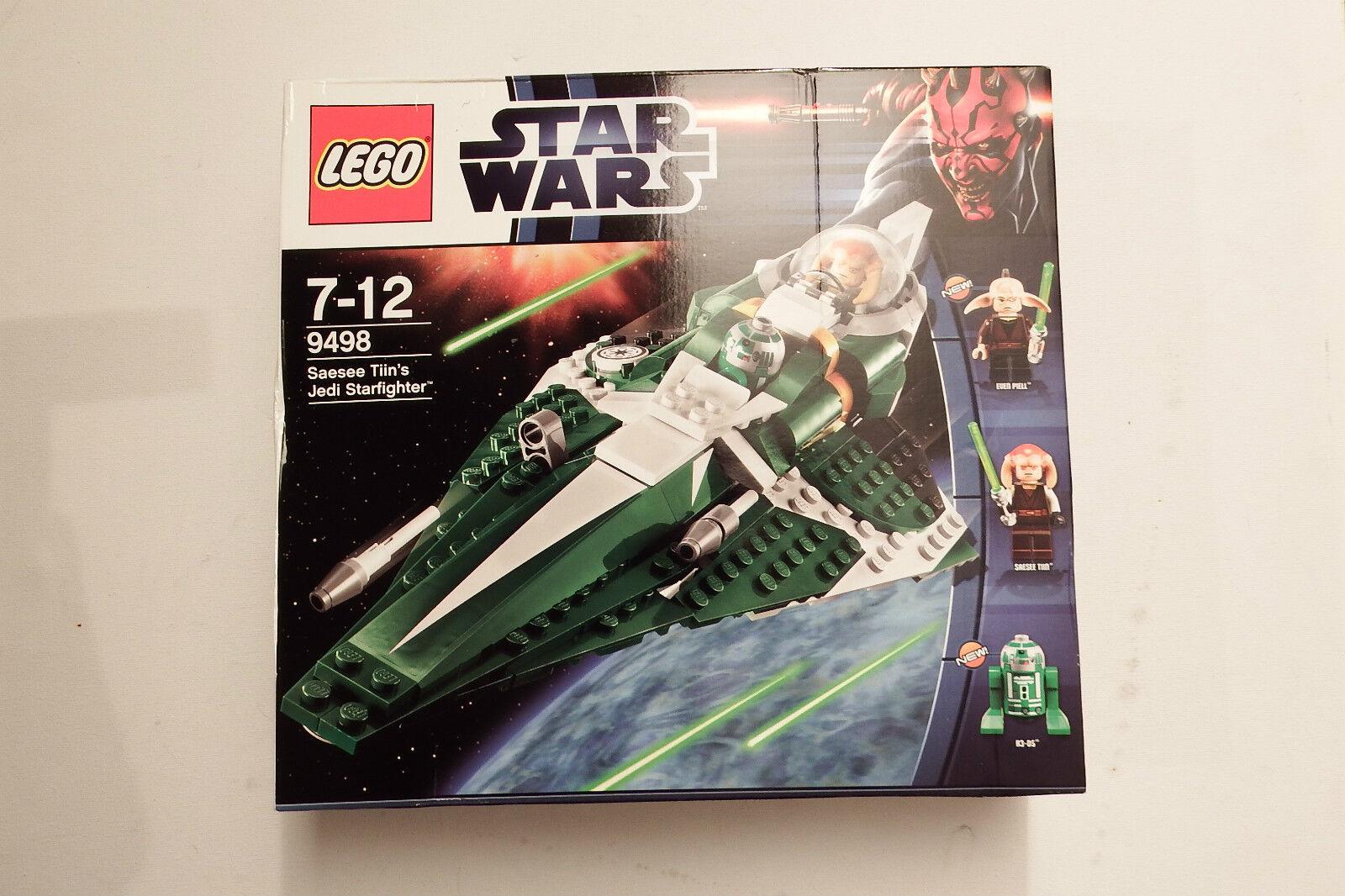 LEGO estrella guerras 9498  Jedi estrellacombatiente TIIN'S JEDI  estrellaFIGHTER Jedi estrellacombatiente Saesee, R3-D5 SIGILLATO  vendita online sconto prezzo basso
