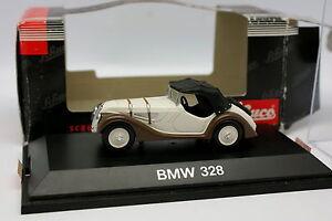 Schuco-1-43-BMW-328-Marron-Creme