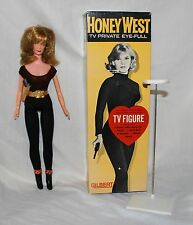 HONEY WEST Vintage 1965 Gilbert Doll Action Figure Complete in Box Excellent Cnd