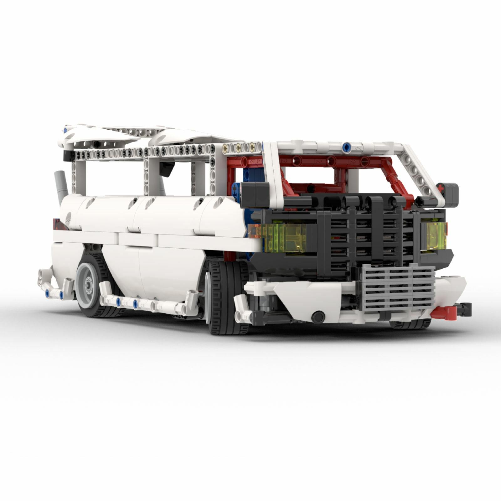 HOONIVAN Drift van MOC-25209 Technic 2019 Car kit Building Blocks