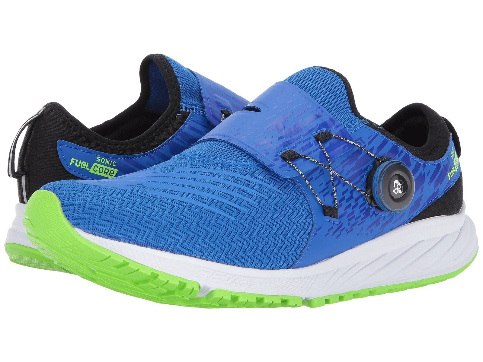 NEW BALANCE Uomo 'Sonic V1' Blue Running Shoes Sz 10-11.5 EE Wide NEW! 229556