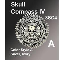 HD, Indian, Drifter Air Filter Cover Emblems Skull Compass IV Zambini Bros MFA