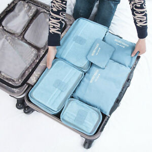 6Pcs-Waterproof-Travel-Clothes-Storage-Bags-Luggage-Cube-Organizer-Pouch-Packing