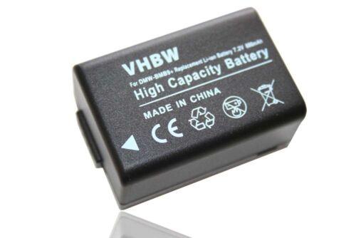 Batería con info chip para vencimiento residual para Panasonic Lumix dc-fz83