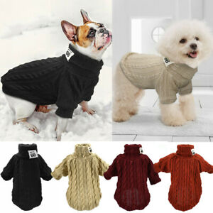 Knitted-Dog-Sweater-Chihuahua-Clothes-Winter-Knitwear-Pet-Puppy-Jumper-Clothes
