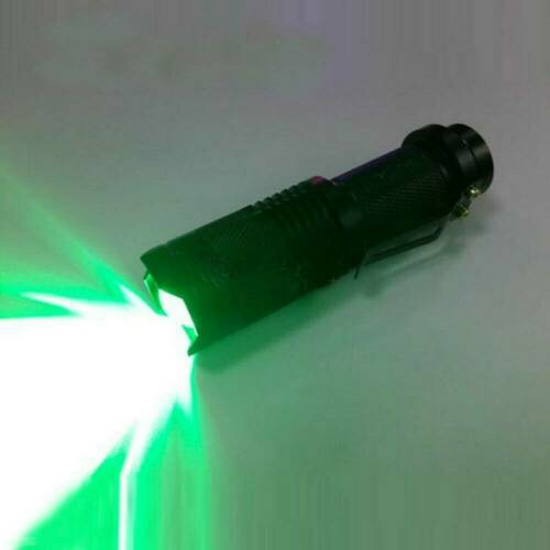Pen Type Red Beam Light Zoomable Torch Astronomy Night Vision Camping Outdoor