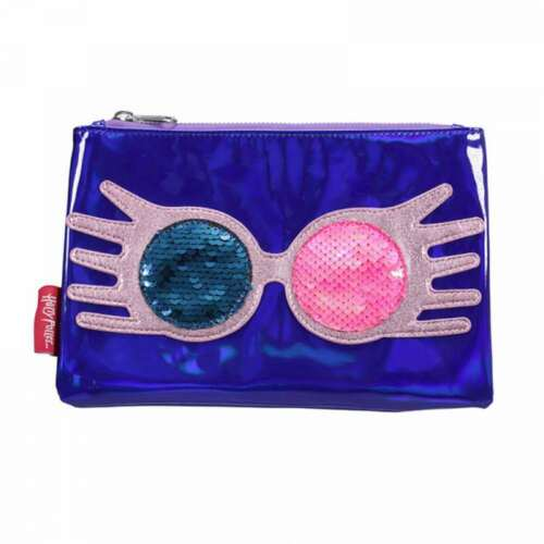 OFFICIAL HARRY POTTER LUNA LOVEGOOD EXCEPTIONALLY TRAVEL POUCH MAKE UP WASH BAG