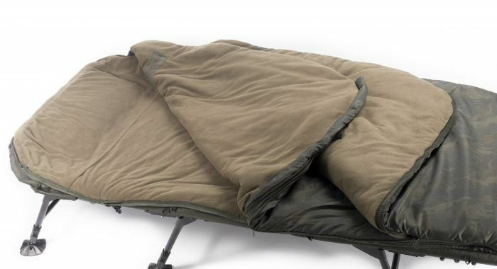 Nash Indulgence 5 Season Sleeping Bag Wide   Accessories   Carp Fishing