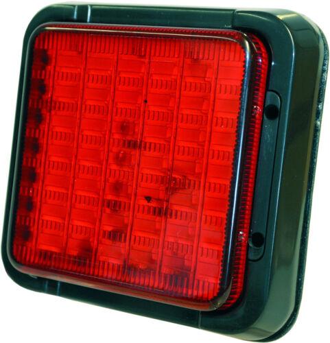 E Zuslassung Schaum-Rückwand LED Rückleuchte 12V 24V Bremslicht Rücklicht