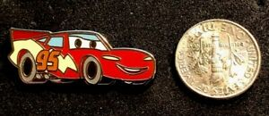 Disney Pin WDW 2014 Hidden Mickey Series *Sketch Pads* Lightning McQueen ! Cars