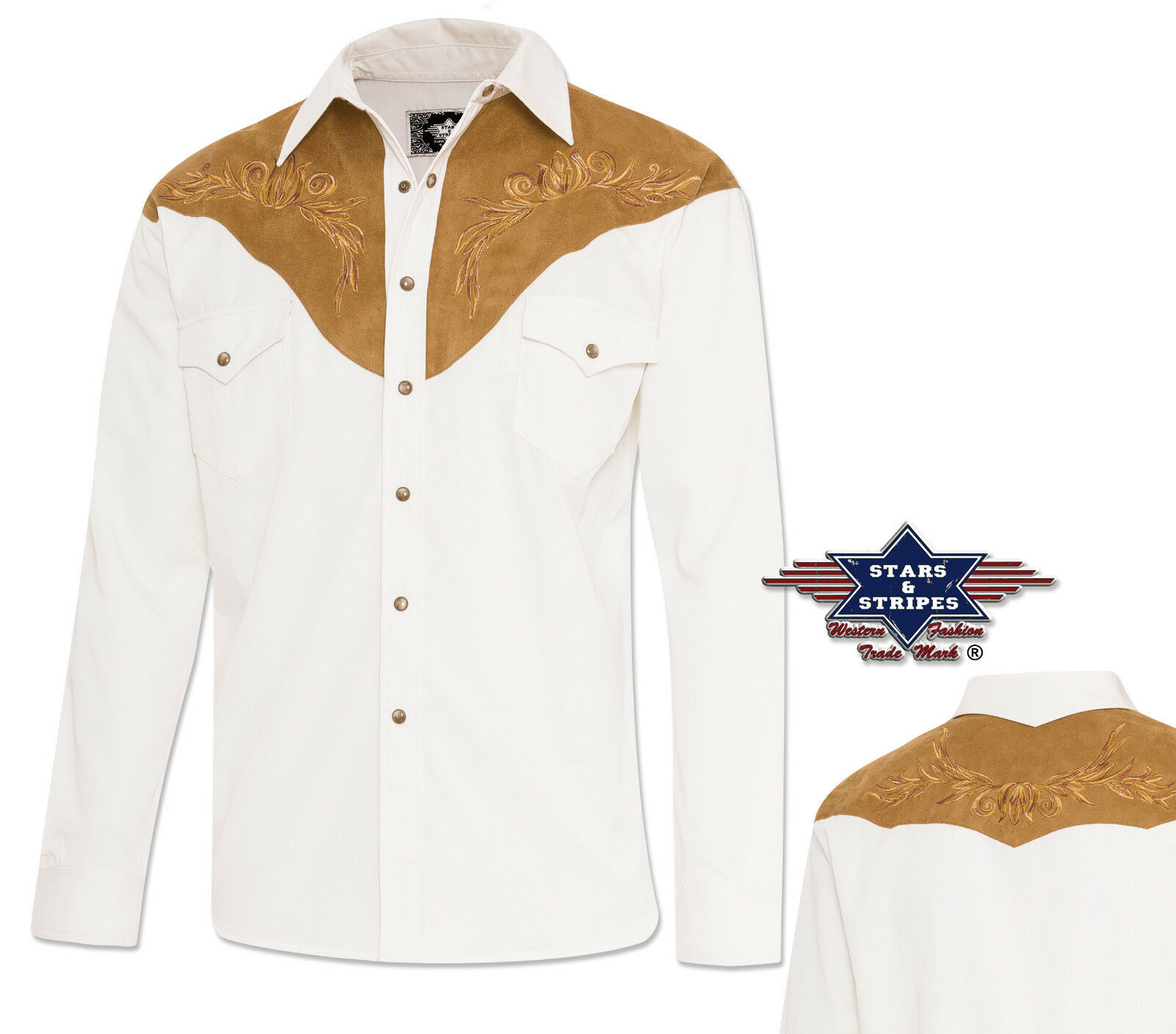 Camicia Western Cowboy Western Camicia  Boston  TG. s-3xl