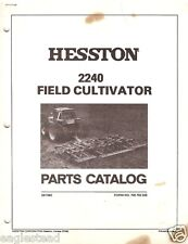Farm Manual - Hesston - 2240 - Cultivator - Parts Catalog List (FM243)