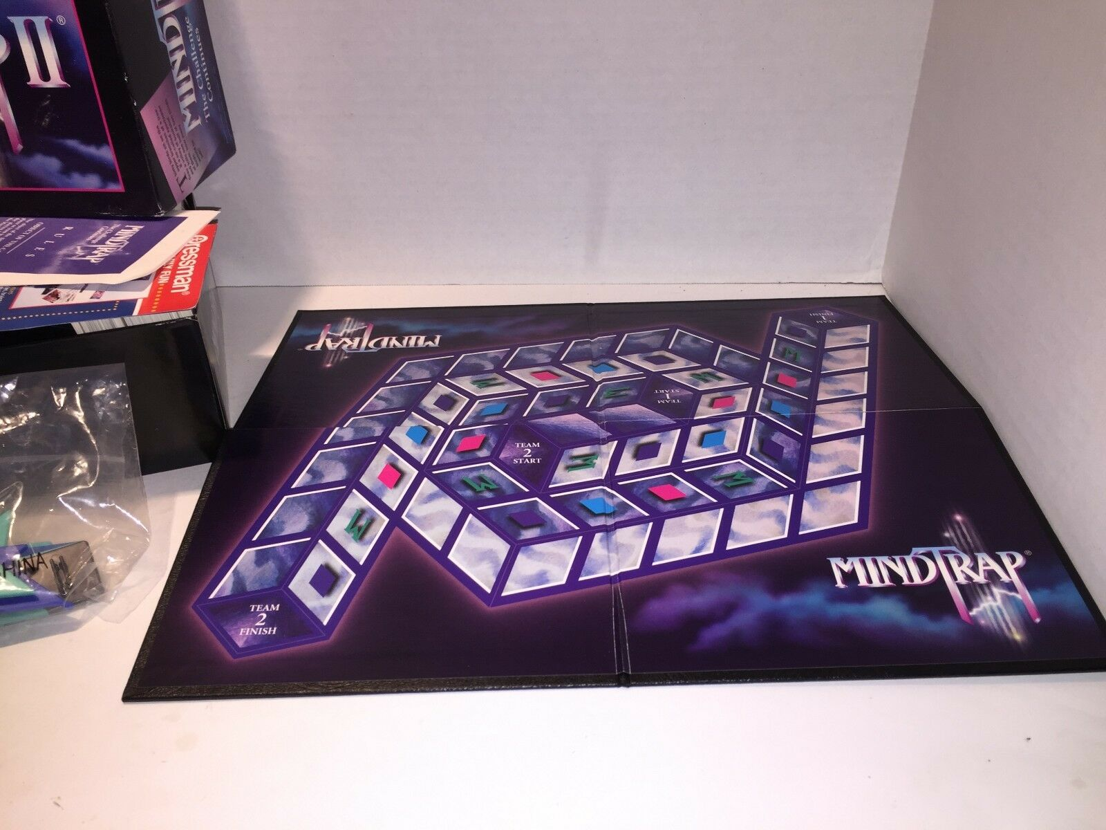Mind Trap 1 and 2 Games It Will Challenge Challenge Challenge the Way You Think & See 1991 1997 ef7de9