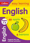 English Ages 7-9 (Collins Easy Learning KS2) by Collins Easy Learning (Paperback, 2014)