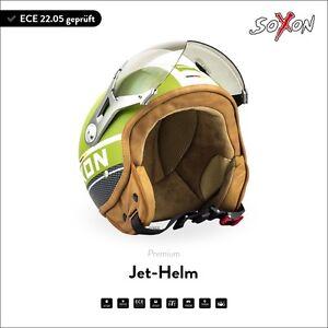 soxon sp 325 plus army jet helm motorrad helm roller helm. Black Bedroom Furniture Sets. Home Design Ideas