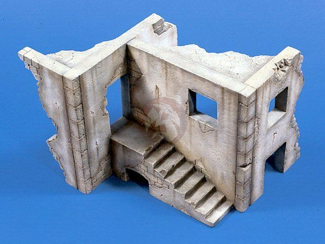 Verlinden 1 35 Ruined House Section Middle East Afghanistan 1577 (Trophy 2002)