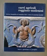Locale Modena Reggio Farri Mussini Carri Agricoli Agricoltura Intaglio 1981