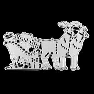 Stencil-decorazione-rilievo-scrapbook-natale-renna-babbo-regali-renne-acciaio