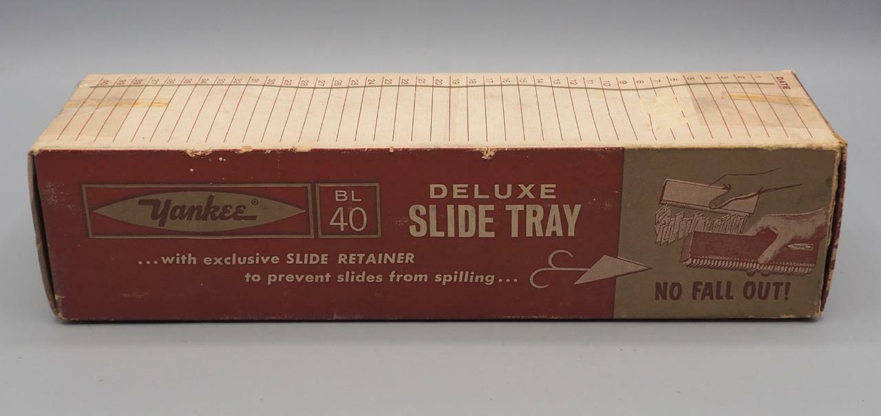 Vintage Yankee BL40 Slide Tray w/ Box