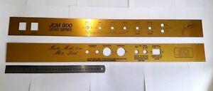 Front-Panel-Back-Panel-JCM-800-series-Marshall-2204-Master-Model-50w-MK-2-Lead