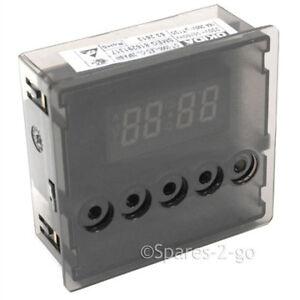 Smeg Genuine Oven Cooker Digital Clock Timer 5 Button 816291317