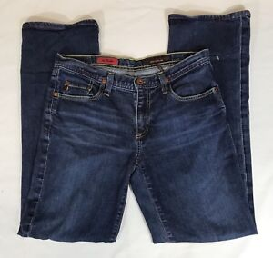 EUC-Womens-Adriano-Goldschmied-Size-27R-039-The-Rider-039-Medium-Wash-Relaxed-Jeans