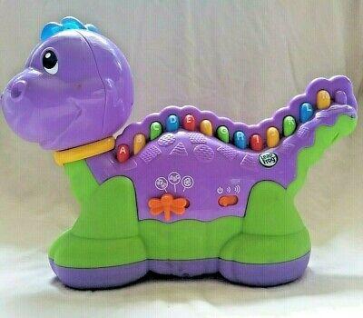 Leap Frog Lettersaurus Purple Dinosaur Learning Toy ...