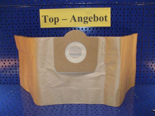 mehrlagige Papiertüte 10 Staubsaugerbeutel geeignet für Top Craft NT 06//09