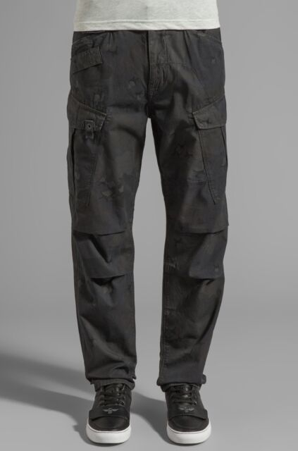Højmoderne G Star Raw Rovic Desert Tapered Cargo Pant in Raven Size W31/l32 AB-84