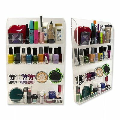 Acrylic Nail Polish Wall Rack Organizer by D'Eco, New, Free Shipping