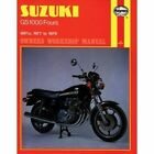 Suzuki GS1000 Fours Owner's Workshop Manual by Martyn Meek (Paperback, 1988)