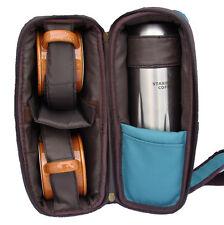 2006 Starbucks Picnic set Travel Bag Thermos mugs hiking fishing camping