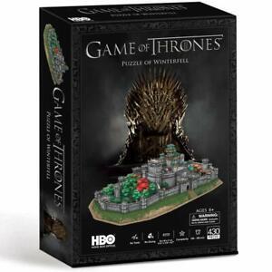 Juego-de-tronos-ubicaciones-Winterfell-3D-Rompecabezas-PL