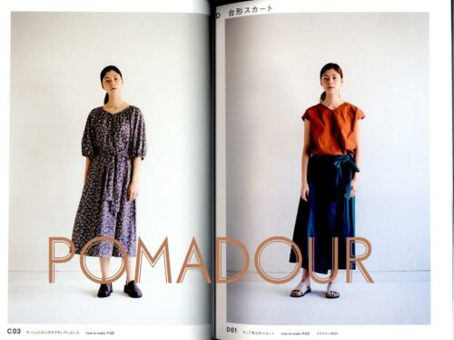 Quoi Quoi Clothes that I love Forever Japanese Craft Pattern Book
