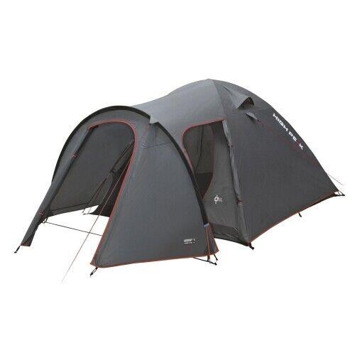 High Peak Kira 5 Campingzelt grau Zelt Niedrigzelt Outdoorzelt