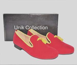 Men fashion Luxury Velvet Slippers Loafer Shoes