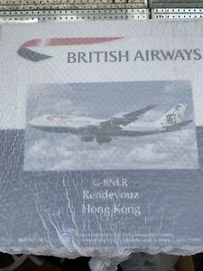 Inflight 200 Boeig 747-400 British Airways G-BNLR RENDEZ VOUS HONGKONG NEW