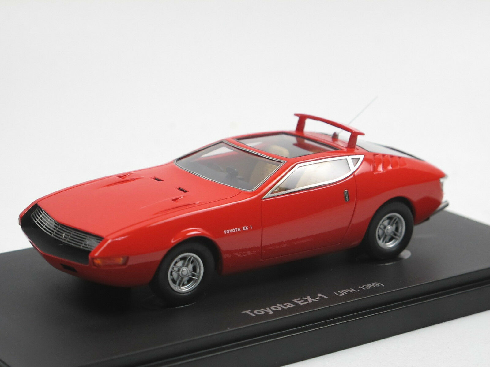 Autocult Avenue 43 60010 Toyota EX-1 Concept Car 1969 Japan 1 43 Limited Edition  | In hohem Grade geschätzt und weit vertrautes herein und heraus