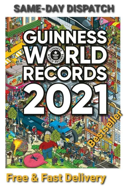 Guinness World Records 2021 | New | 2021| BESTSELLER | RRP: £20 |  Yours: £12
