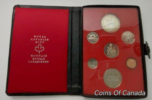 1973 Canada 7 Coin Prestige Silver Dollar Specimen Set ORIGINAL #coinsofcanada