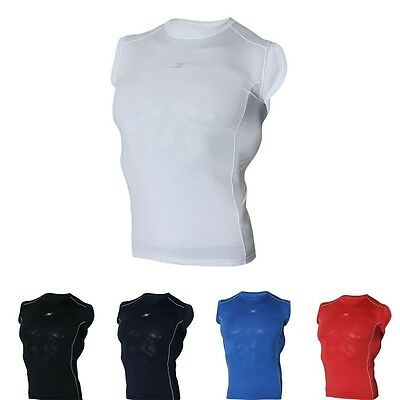 Mens Compression Sleeveless Shirt Base Layer sleeveless under armour Tank Top NM
