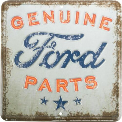Ford Genuine Parts Metal Plate Sign Wall Mounted Plate Collectable 300x300