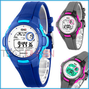 FäHig Elektronische Oceanic Armbanduhr Für Damen Und Kinder Wr100m Nickelfrei Armband- & Taschenuhren