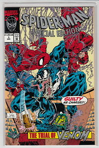 SPIDER-MAN-SPECIAL-EDITION-TRIAL-OF-VENOM-1-Unicef-Mail-away-NM