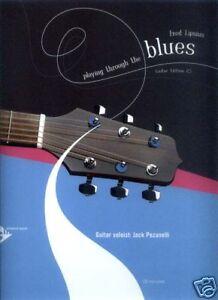 Fred-Lipsius-Playing-Through-the-Blues-Gitarre-Guitar-Noten-mit-CD